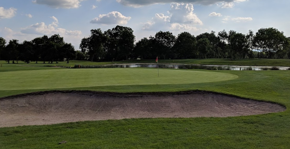 Isle of Wedmore Golf Club, picture courtesy of D. MacKay (c) June 2018